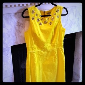Bold yellow spring and summer Cremieux size 12